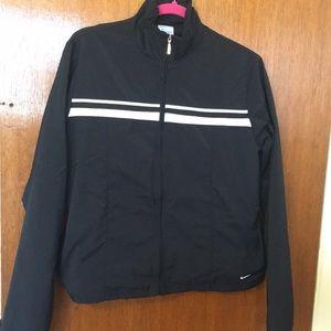 L Nike zip track jacket